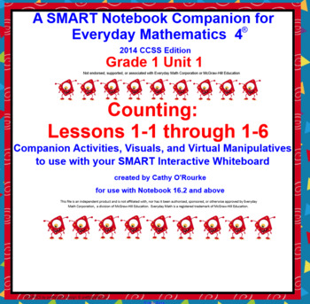 A SMARTboard Companion for Everyday Math 4 2014 CCSS Ed Gr 1 Unit 1 Part 1