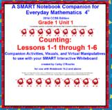 A SMARTboard Companion for Everyday Math 4 2014 CCSS Ed Gr 1 Unit 1 Part 1