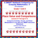 A SMARTboard Companion for Everyday Math 4 2014 CCSS Ed Gr 1 Unit 5 Part 2