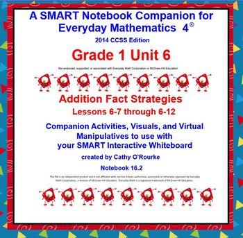 A SMARTboard Companion for Everyday Math 4 2014 CCSS Ed Gr 1 Unit 6 Part 2