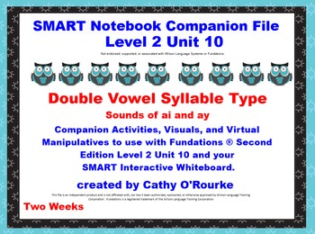 A SMARTboard Second Edition Level 2 Unit 10 Companion File