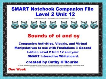 A SMARTboard  Second Edition Level 2 Unit 12 Companion File
