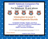 A SMARTboard Second Ed. Level 1 Unit 1 Companion File for