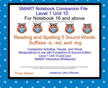 A SMARTboard Second Ed. Level 1 Unit 10 Companion File for Notebook 16 and Above