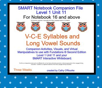 A SMARTboard Second Ed. Level 1 Unit 11 Companion File for Notebook 16 and Above