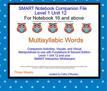 A SMARTboard Second Ed. Level 1 Unit 12 Companion File for Notebook 16 and Above