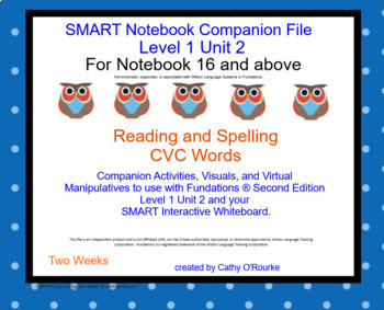 A SMARTboard Second Ed. Level 1 Unit 2 Companion File for Notebook 16 & above
