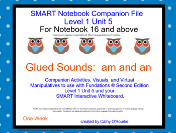 A SMARTboard Second Ed. Level 1 Unit 5 Companion File for Notebook 16 and above