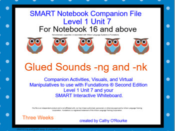 A SMARTboard Second Ed Level 1 Unit 7 Companion File For Notebook 16 & Above