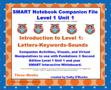 A SMARTboard Second Edition Level 1 Unit 1 Companion File