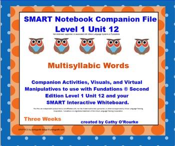 A SMARTboard Second Edition Level 1 Unit 12 Companion File