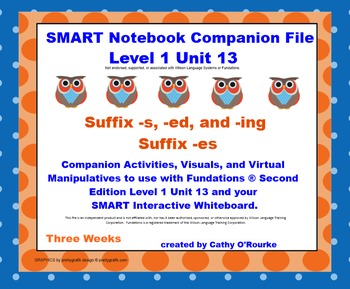 A SMARTboard Second Edition Level 1 Unit 13 Companion File