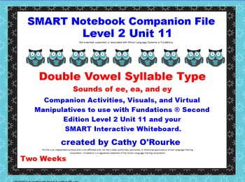 A SMARTboard  Second Edition Level 2 Unit 11 Companion File