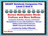 A SMARTboard  Second Edition Level 2 Unit 5 Companion File