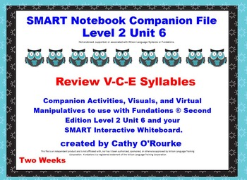 A SMARTboard  Second Edition Level 2 Unit 6 Companion File