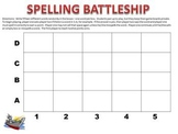 A SPELLING BATTLESHIP GAME