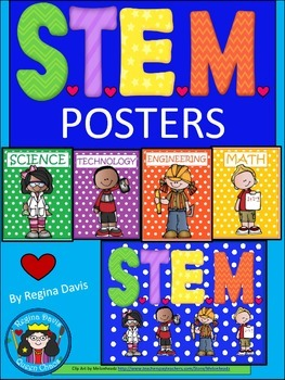 A+ S.T.E.M. Posters...Science, Technology, Engineering & Math