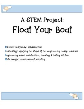 A STEM Project: Float Your Boat