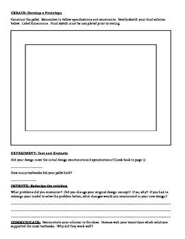 A STEM Project: Paper Pallet