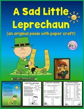 A Sad Little Leprechaun Original Poem
