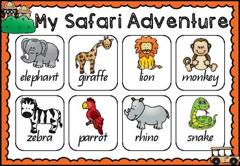 A Safari Reading Adventure - Reading Group Activities
