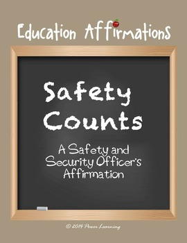 A Safety and Security Officer's Affirmation (Professional