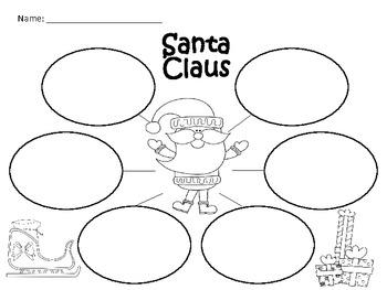 A+ Santa Claus: Graphic Organizers