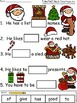 A+ Santa Claus Sentences: Fill In The Blank