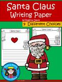 A+ Santa Claus ... Writing Paper