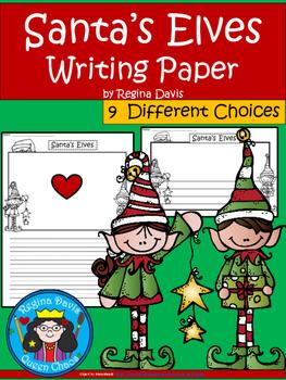 A+ Santa's Elves ... Writing Paper