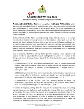 A Scaffolded Writing Task