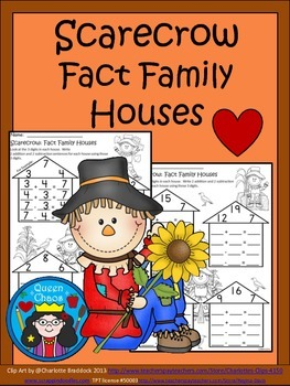 A+ Scarecrow: Fact Family Houses