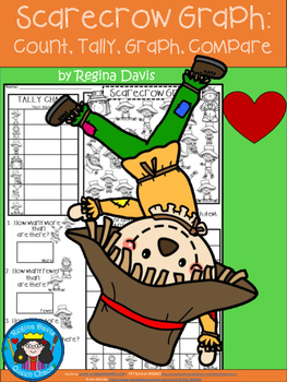 A+ Scarecrow Graph: Count, Tally, Graph, and Compare
