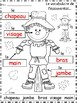 A+ Scarecrow Labels: French
