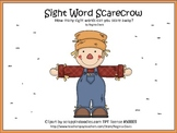 A+ Scarecrow Sight Word Find