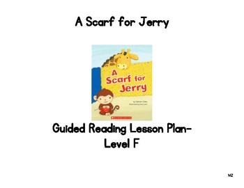 A Scarf for Jerry Guided Reading Lesson Plan