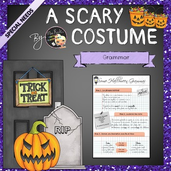 A Scary Costume - EFL Worksheets