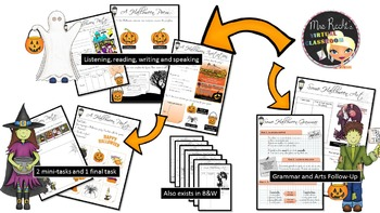 A Scary Party - EFL Worksheets