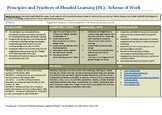A Scheme of Work for Teachers' Professional Development on Blended Learning
