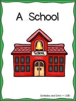 A School Book ~ Literacy Activities