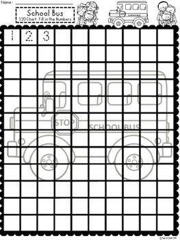 A+ School Bus 100 and 120 Chart