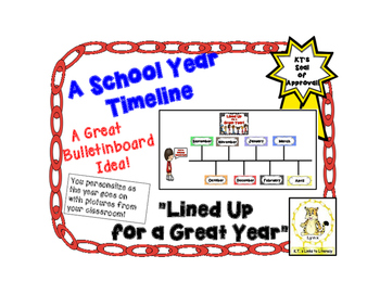 A School Year Timeline-  Lined Up for a Great School Year