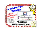 A School Year Timeline- Rocking the School Year
