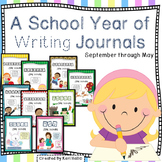 A School Year of Writing Journals- Bundled, September through May