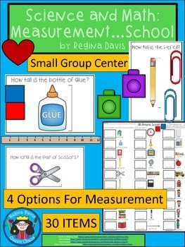 A+ Science & Math: Measurement....School Theme