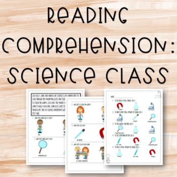 Reading Comprehension - Science Class