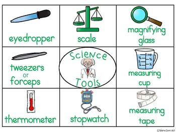 A+ Science Tools: Recording Sheet