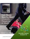 A Scientific Perspective on Wealth