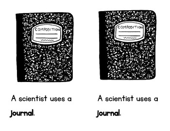 A Scientist's Tools--A Printable Booklet for K-1 & Mini Posters