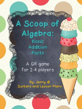 A Scoop of Algebra: Basic Addition Facts